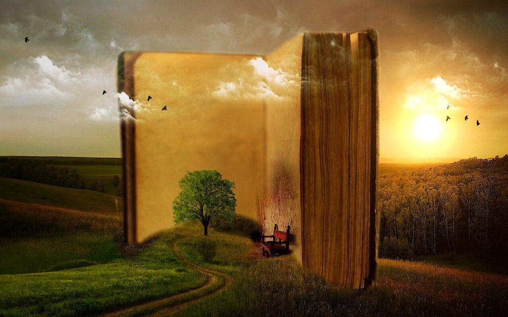 Jedes Buch eröffnet Zugang zu einer anderen Welt!
